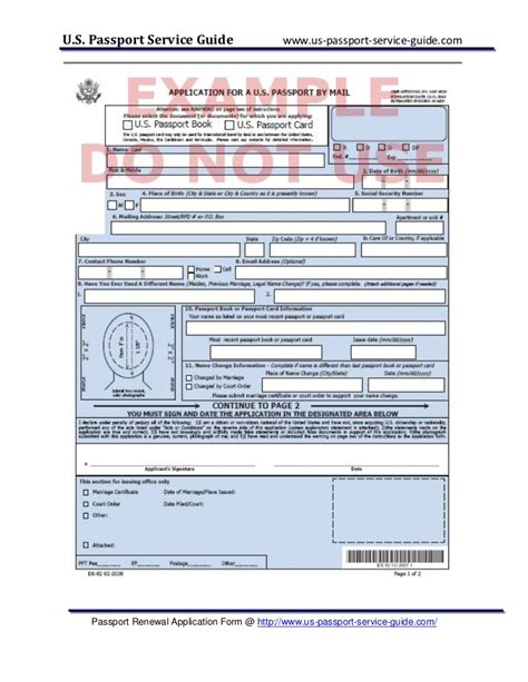 Passport Renewal Documents documents needed for passport renewal world of exle