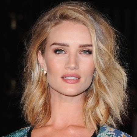 the tousled lob longer bob the tousled lob courtesy of rosie huntington whiteley see
