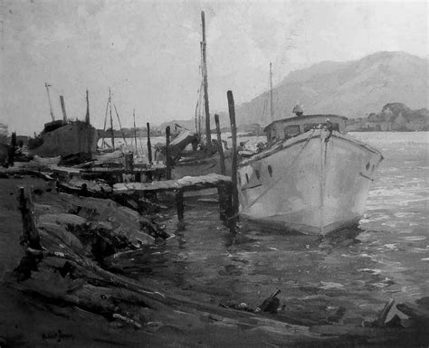 fishing boat auction melbourne paintings robert h johnson page 2 australian art