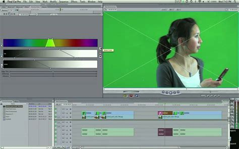final cut pro chroma key final cut tutorial chroma key part 1 doovi