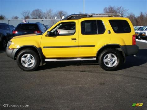 solar yellow 2002 nissan xterra xe v6 exterior photo 42348328 gtcarlot