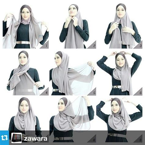 hijab tutorial hijabi pinterest tutorials hijabs and abayas hijab tutorial hijab tutorial and tips pinterest