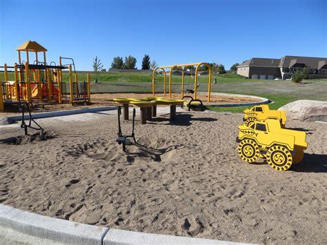 park neighborhood new neighborhood park is open bismarck parks recreation