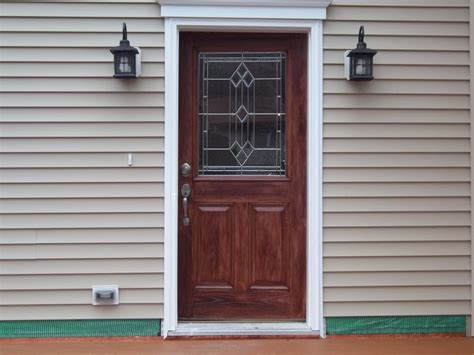 How To Paint A Fiberglass Door by Faux Fiberglass Door Staining Coxsackie Ny From Kellogg S
