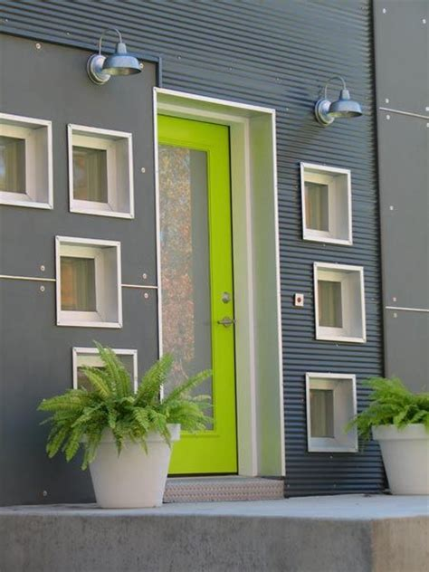 door accent colors for greenish gray source for simple modern storm doors modern front