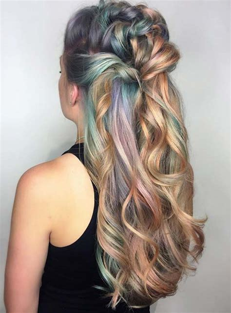 ombre colorful hair 50 bold pastel and neon hair colors in balayage and ombre