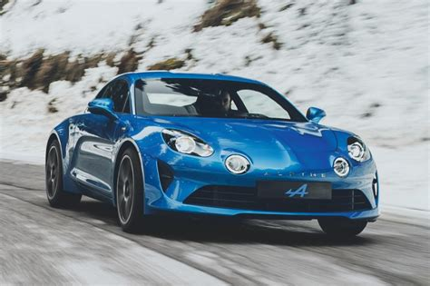 Alpine A110 Sports Car 2017 Official Pictures Auto Express