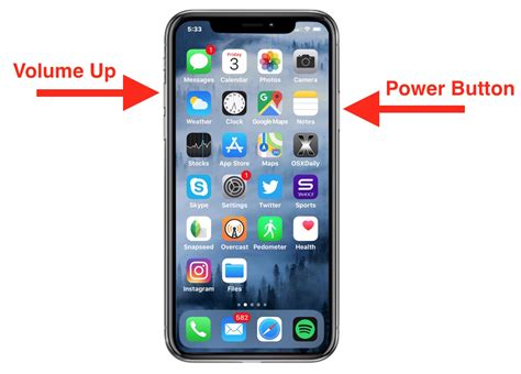 how to take screenshots on iphone x iphone xr xs and iphone xs max
