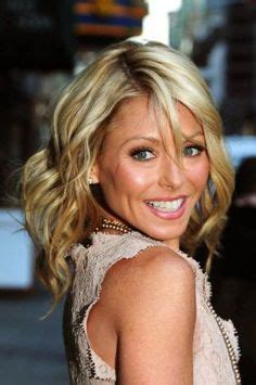 kelly ripa grey hair kelly ripa