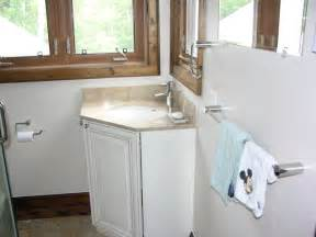 Small Bathroom Organization Ideas corner bathroom vanity