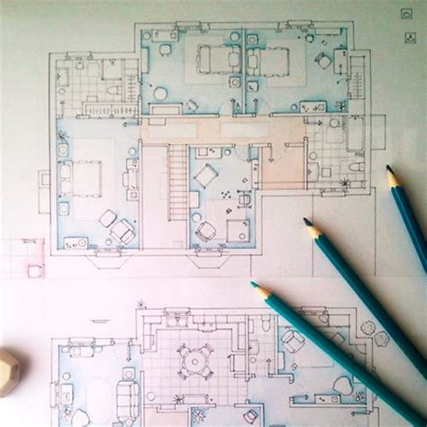 tv floor plan as seen on tv floor plans from television series