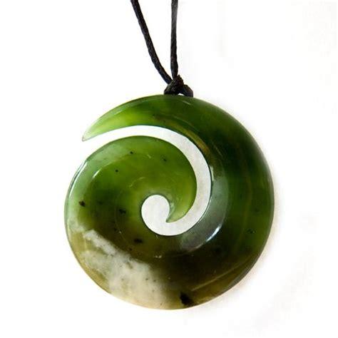 new zealand greenstone koru pendant kiwitreasure