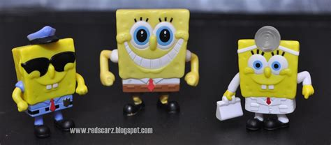 Koleksi Mainan Murah Happy Meal Spongebob 1 daus redscarz mcd happy meal collections