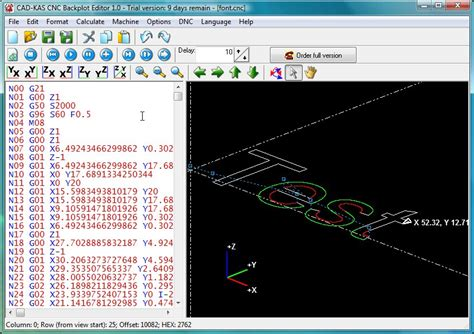 Drawing G Code Program by Cnc Backplot Editor Plot The Tool Movements Of Any G