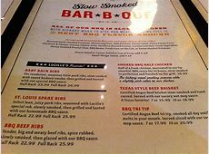 Lucille's Smokehouse Bar-B-Que – Bite and Switch Famous Dave's Menu