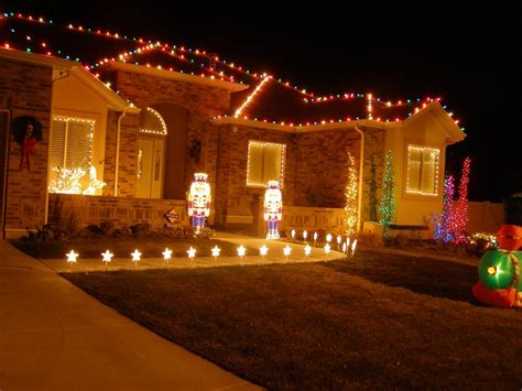 christmas lights on house wallpaper wallpapers high