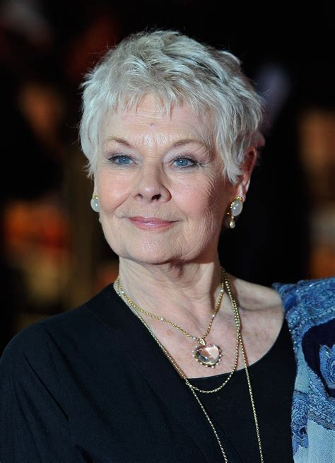 how to style judi dench pixie judi dench photos photos the best exotic marigold hotel
