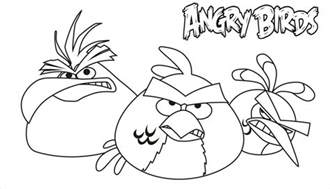 free printable angry bird coloring pages kids