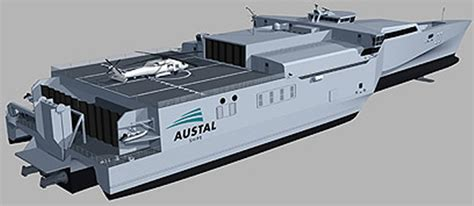 trimaran logistics navy recognition