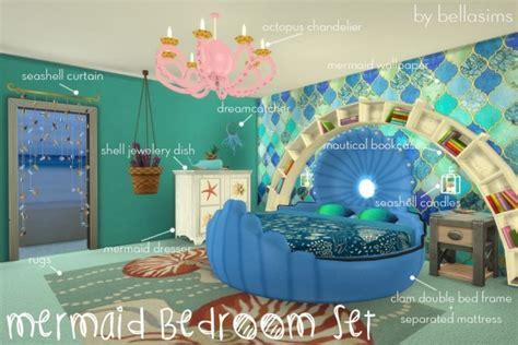mermaid bedroom set mermaid bedroom set at bellassims 187 sims 4 updates