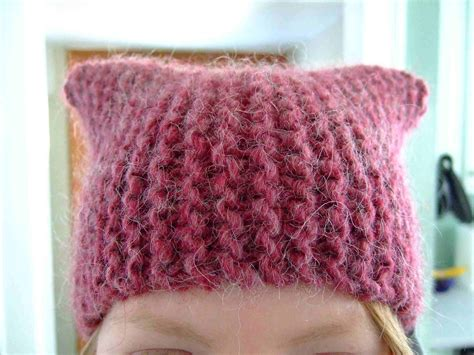 easy knit hat pattern for simple knit hat patterns knitfit