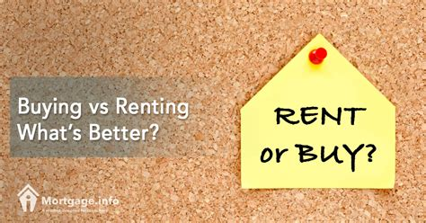 whats better renting or buying a house buying vs renting what s better mortgage info