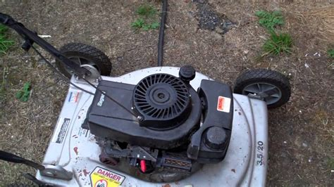 craftsman lawn tractor won t start craftsman 917 378270 is making popping sound and won t start