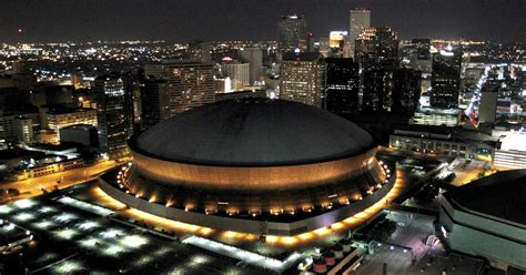 saints stadium renamed mercedes benz superdome cbs news