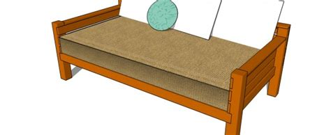 how to build a day bed how to build a day bed howtospecialist how to build step by step diy plans