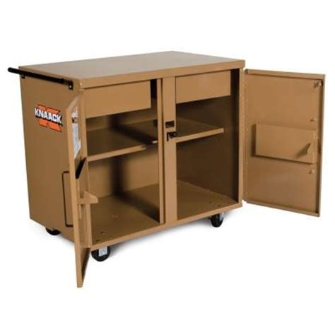 rolling tool bench knaack 7 sq ft classic rolling workbench 40 the home depot