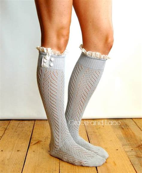 grace and lace dainty lace boot socks ebay