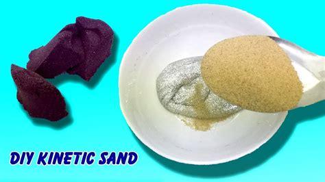 membuat pasir kinetik diri galaxy slime  borax