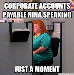 office space the peanut vendor corporate accounts payable nina speaking