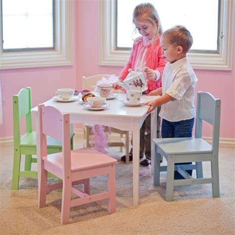 Children S Dining Table Modern Table And Chairs Design Options Homesfeed