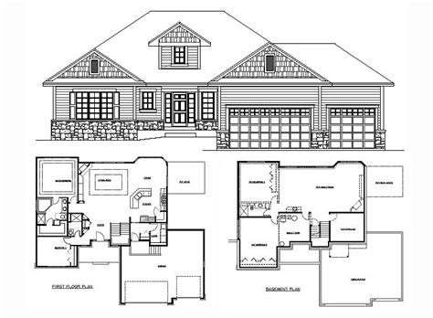 rambler house floor plans rambler floor plans 2 400 sq ft amanda 205100
