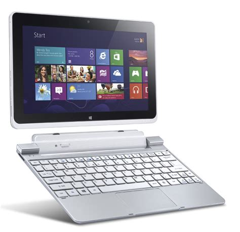 Tablet Dengan Keyboard Eksternal Acer Iconia W510 Pc Tablet Windows 8 Multifungsi Memudahkan