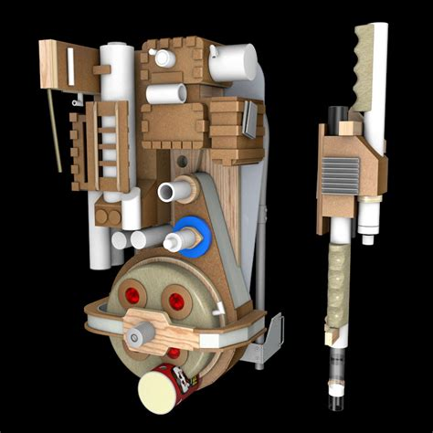 Build A Proton Pack by 1984 Proton Packs Build