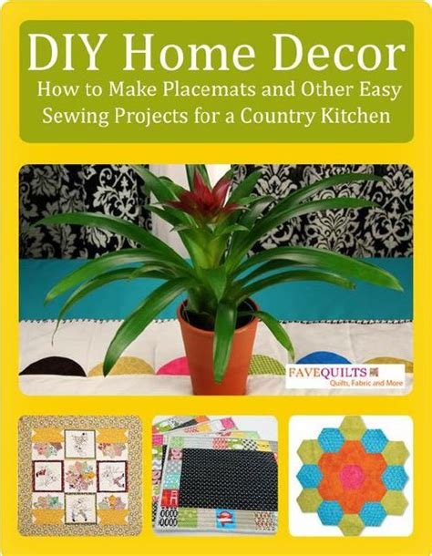 diy sewing projects home decor diy home decor how to make placemats and other easy