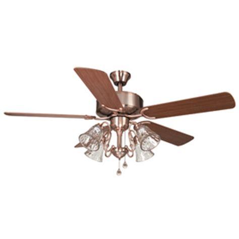 harbor orleans ceiling fan shop harbor dubois 52 in brushed copper indoor