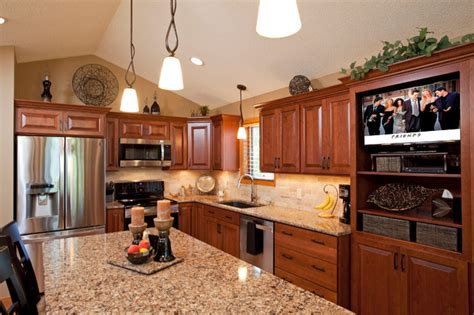 Lakeville Kitchens by Lakeville Cherry Kitchen Traditional Kitchen