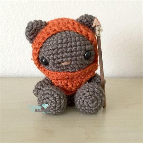 amigurumi ewok pattern free crochet ewok teddy bear in amigurumi style with spear