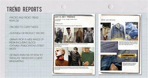 trend analysis report sle michael smith design freelance fashion design in
