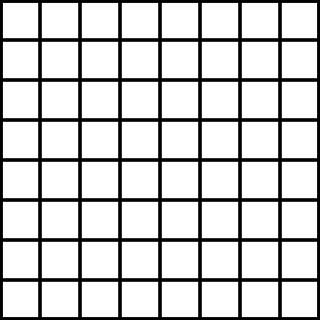 Printable 8x8 Grid