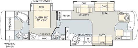 Monaco Rv Floor Plans by 2006 Monaco Diplomat 40dst Floorplan