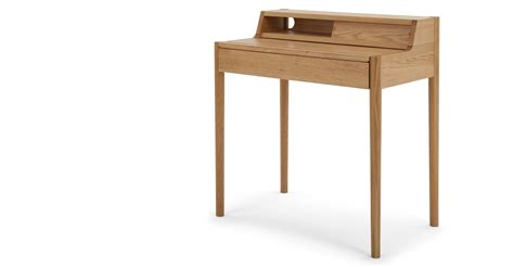 Small Compact Desks Leonie Compact Desk Oak Made