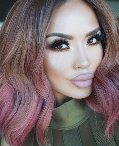 rose gold hair dye 24 rose gold hair color variations to take to your