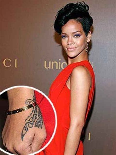 explore interesting rihanna tattoos
