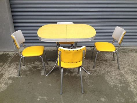 chrome kitchen table set 1000 images about far out formica tables on