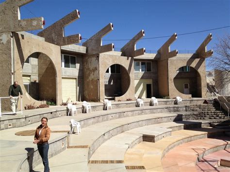Housing Design by Remembering Life In Arcosanti Paolo Soleri S Futuristic