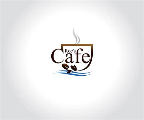 design logo cafe elegant modern cafe logo design for roc s cafe by mb